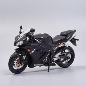 山葉 YZF-R1  黑色電單車【 比例 1:12 】