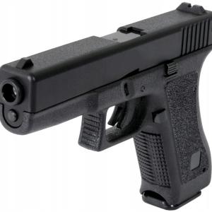 G-17 黑色彈簧玩具槍( 原型格洛克 17 )【 比例 1:1】