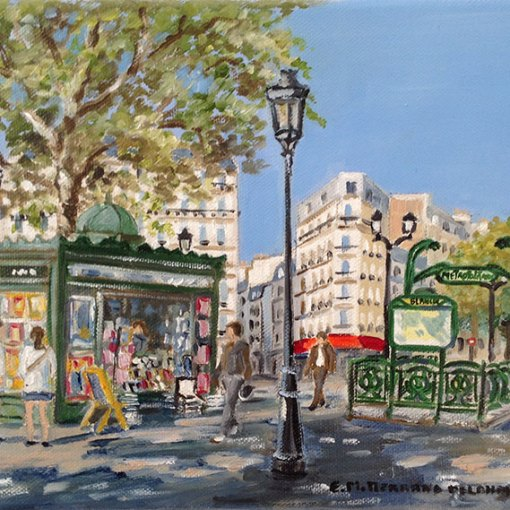 Montmartre Place blanche