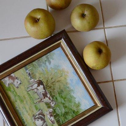 histoire de pommes