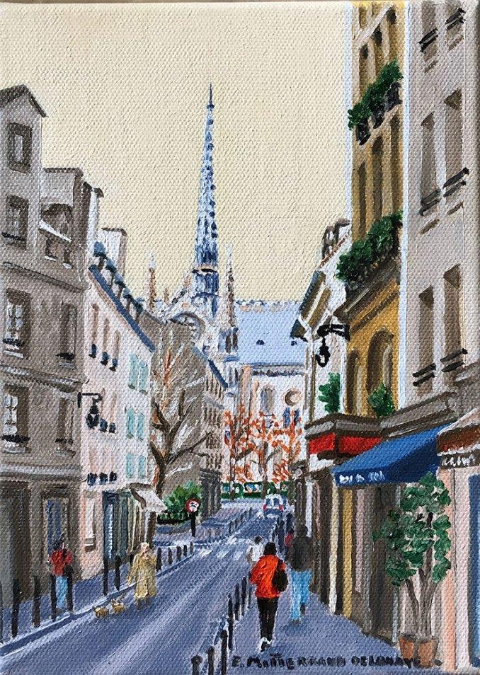La flèche de Notre-Dame