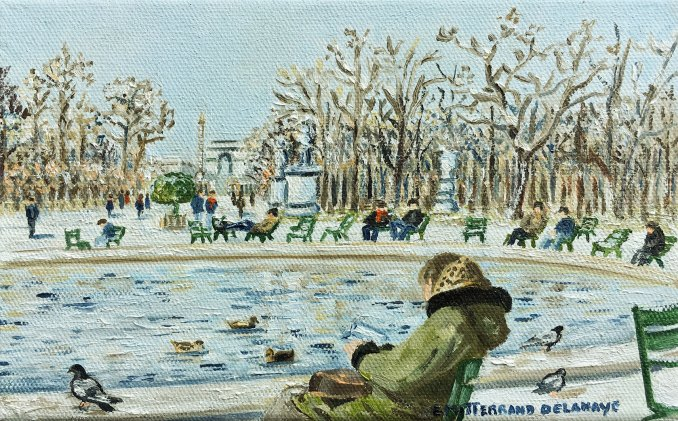 January aux Tuileries