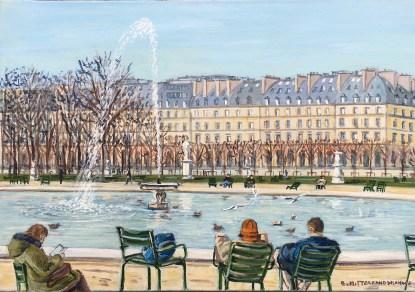 Le bassin des Tuileries