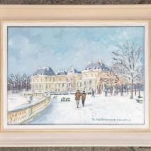 Promenade sous la neige