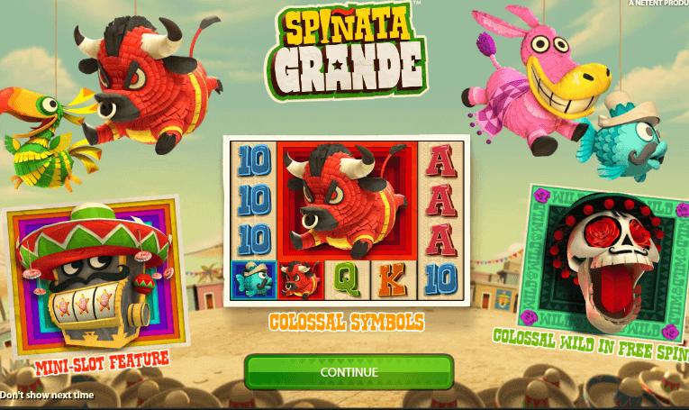 สล็อตเว็บตรง เล่นเกมส์ Pinata Grande ปาร์ตี้เม็กซิกัน