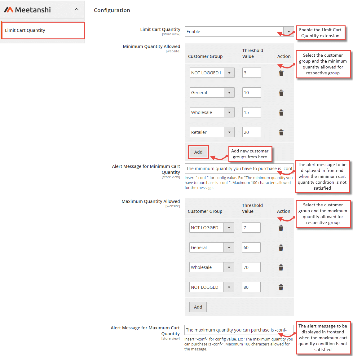 Magento 1 Collection Limit