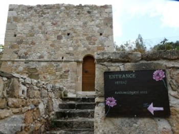 Minoan palace Petras