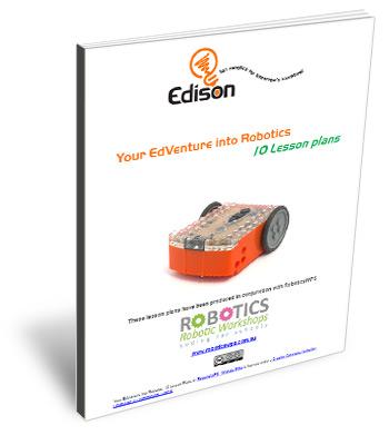 robotics lesson plans - cover