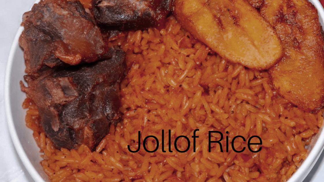 HOW TO COOK NIGERIAN JOLLOF RICE
