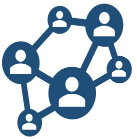 Image showing a network of people
