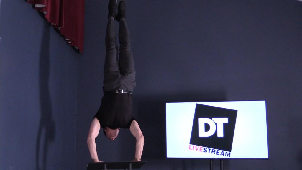 Dan Thurmon Handstand 2
