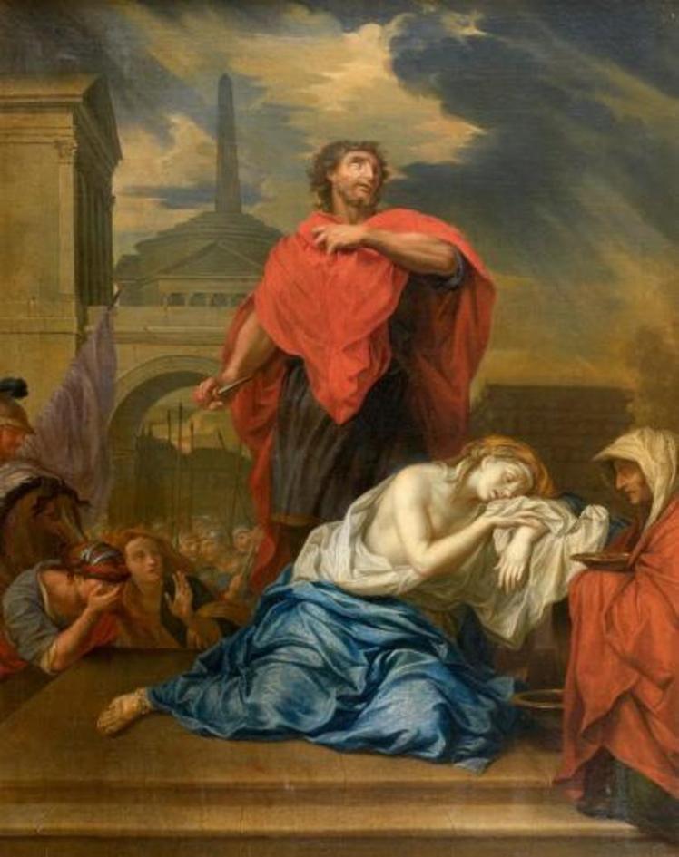 Margin Jephthah's Daughter LeBrun