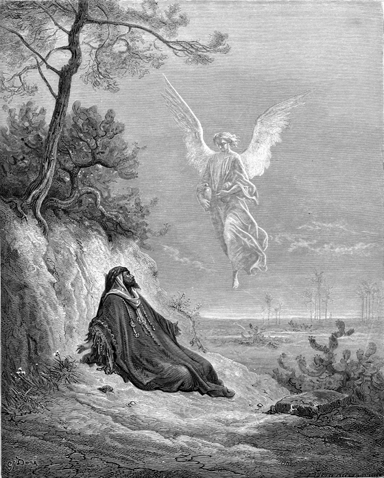 Enoch With the Angel Dore