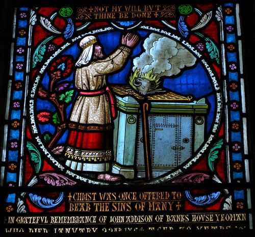 Leviticus Window Burnt Offering