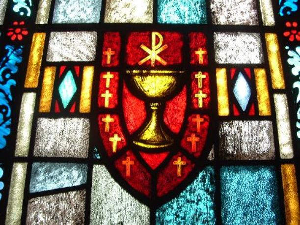 This is my Blood church window