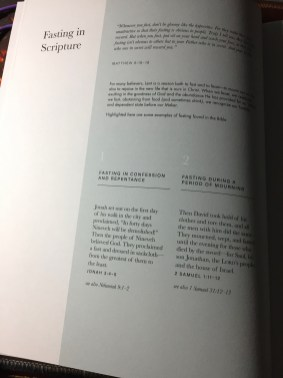 2-page Fasting Reference