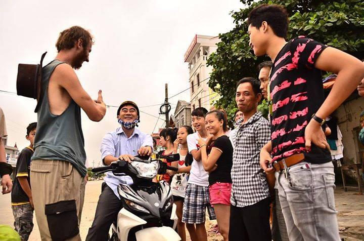 El equipo en Vietnam