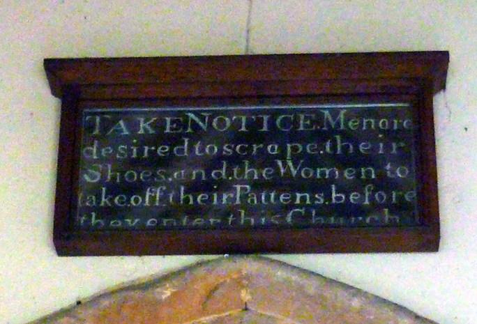 01 above church door