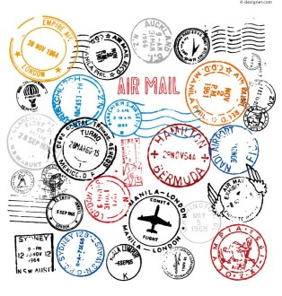 32-kinds-of-shipping-postmark-design-vector-material-54289