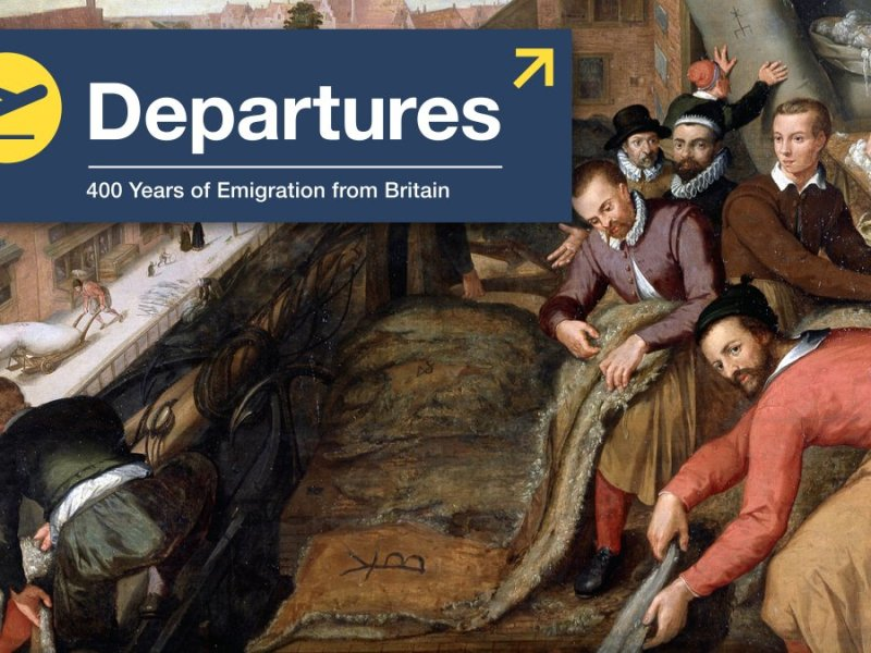 Departures Exhibition at Migration Museum