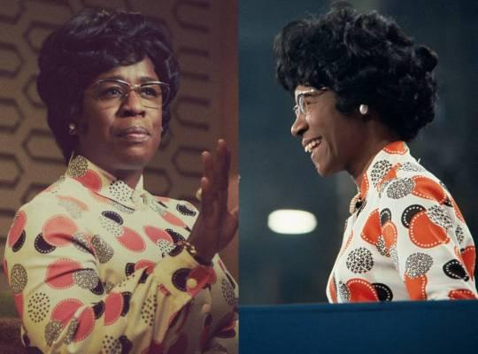 Mrs America Uzo Aduba plays Shirley Chisholm