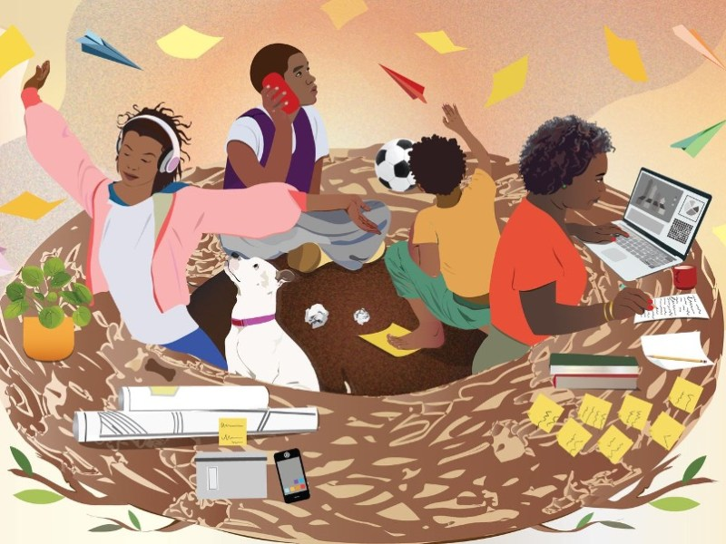 Black women have to juggle work and family