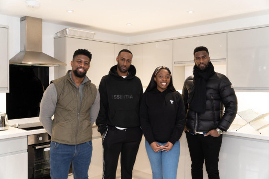 Prescila, Daniel, Jason and Will Twenefour: Triangle News