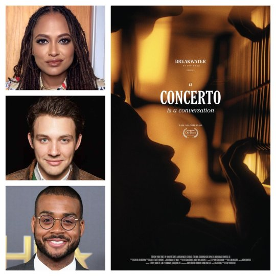 Ava DuVernay, Ben Proudfoot and Kris Bowers A Concerto Is A Conversation