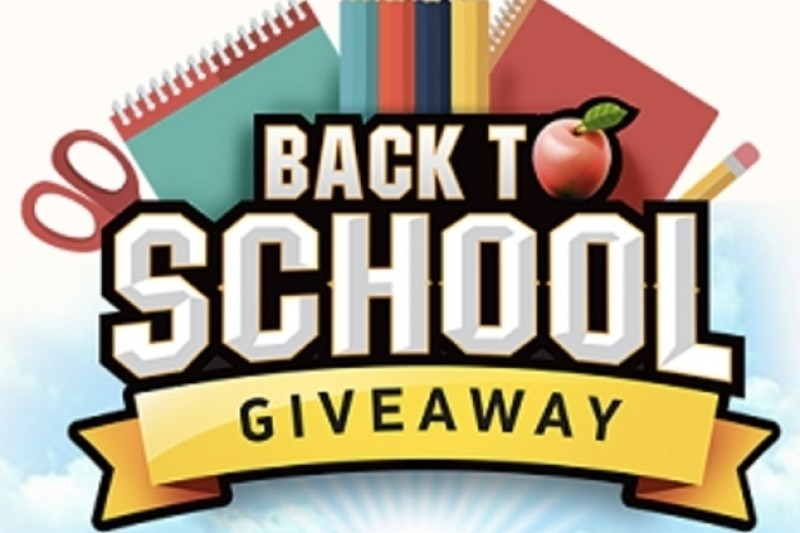 Backpack giveaway