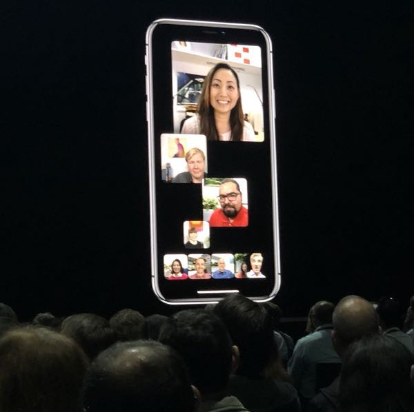 FaceTime Group Conference