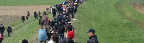 Migrantes na Eslovénia