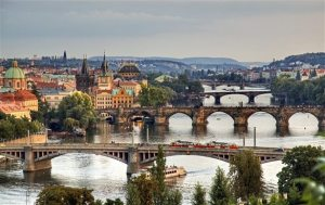 Prague is the world's eighth most popular meeting destination
