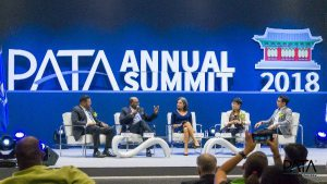 H.E. Ban Ki-moon inspires delegates at PATA Annual Summit 2018