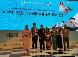 Korea World Travel Fair (KOFTA): Nepal Tourism awarded