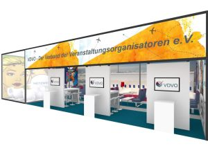 Last-minute top deal: VDVO aircraft in the MICE Hall 7.1a to the ITB 2019