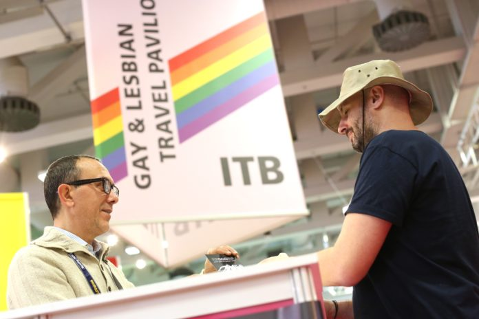 Record numbers of international LGBT+ travel industry exhibitors at ITB Berlin