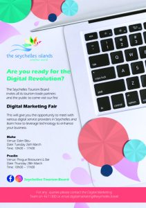 The Seychelles Tourism Board to host the first Digital Marketing Fair in Seychelles