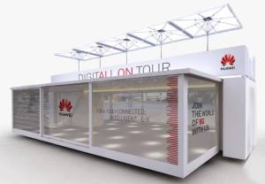 Huawei showcases 5G at Goodwood Festival of Speed 2019