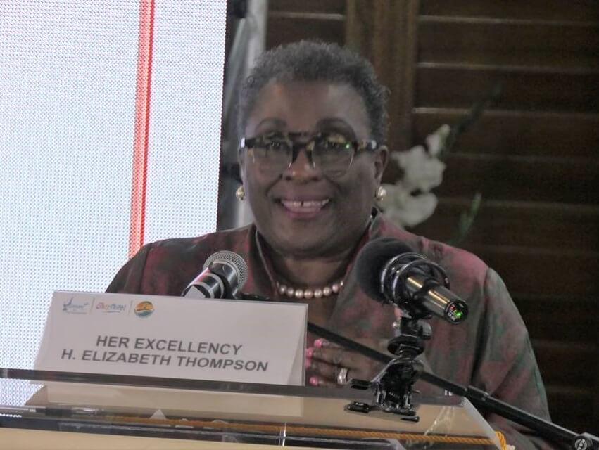 Ambassador Elizabeth Thompson delivers keynote address at CTO Sustainable Tourism Conference