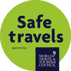 Safe Travels Stamp by WTTC: Rebuilding.travel has a  question
