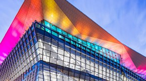 This Convention center was generating a profit