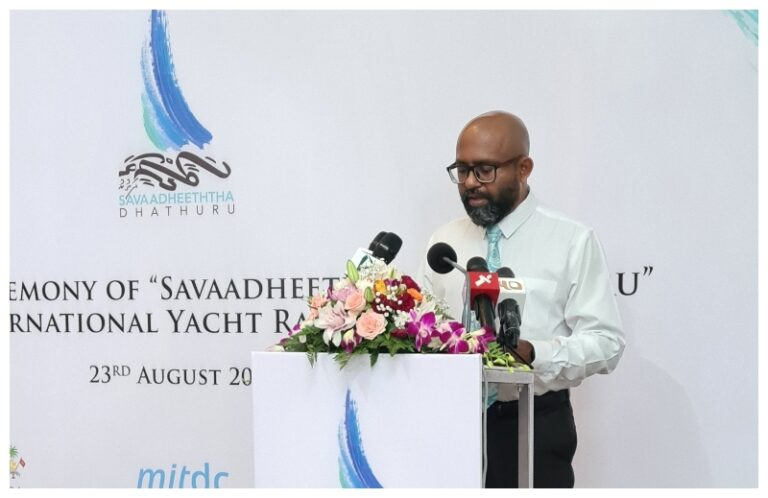 Maldives Rich Cultural Heritage  shouts out InternationalYacht Rally Style