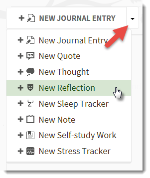 Quick Entry reflection