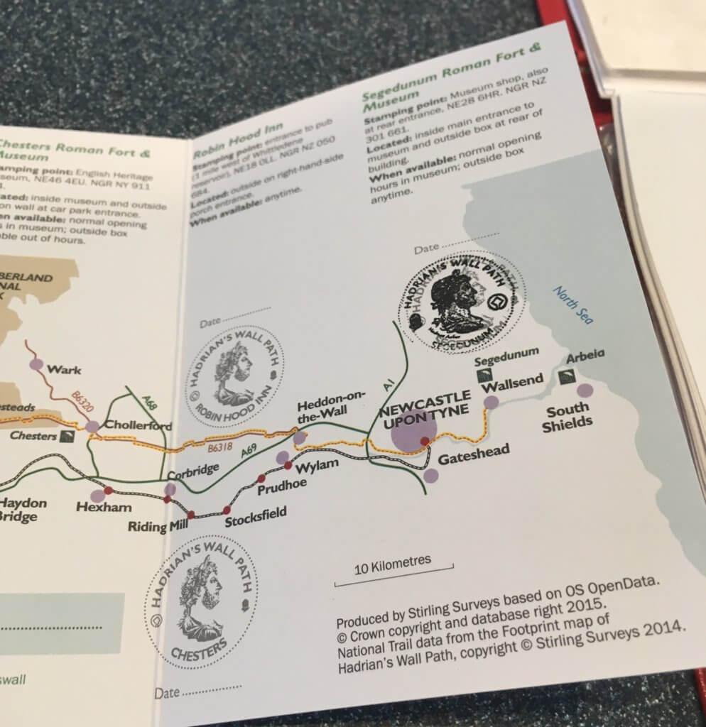 Hadrian's Wall Passport