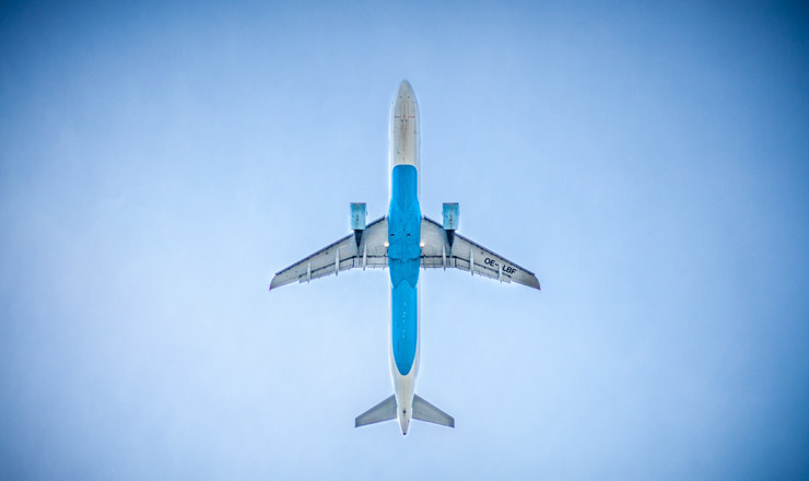 Aeroplane - Credit Unsplash