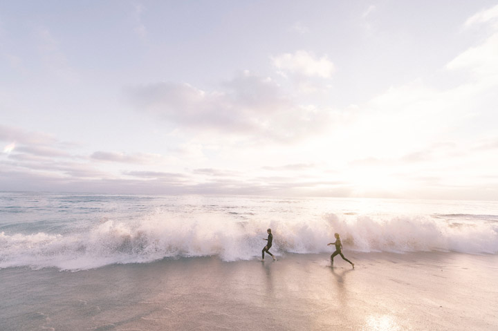 Running on the Beach - Credit Unsplash
