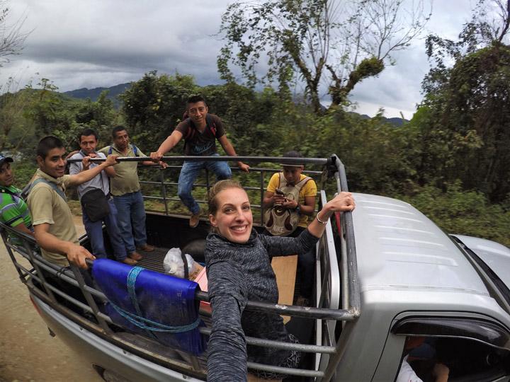 Guatemala in 2 weeks. The best bits of Guatemala. Guatemala Itinerary to see all the best things. How to see the highlights of Guatemala in just two weeks. What to see in 14 days in Guatemala, temples, forests, rivers, colonial towns, UNESCO sites. #GuatemalaHighlights #VisitGuatemala #Tikal #MayanRuins #UNESCOGuatemala #BackpackingCentralAmerica #BackpackingInGuatemala #UNESCOGuatemala #SoloFemalTravel #GuatemalaItinerary #BackpackBecki