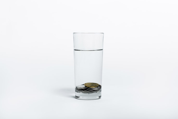 Glass of Water - Credit Unspalsh
