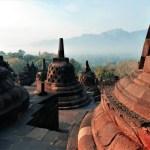 Borobudur at sunrise 1