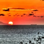 Sunset from Gili T